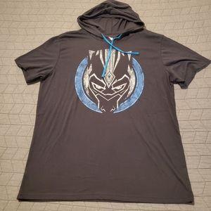 Black panter hoodie shirt NWOT